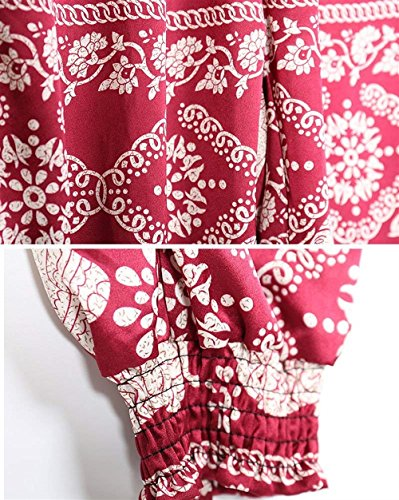 Chic Grazioso Elastica Pantaloni Pattern Tasche 14 Pantaloni High Sottile Vita Colour Stampate Di Di Moda Ragazza Donna Con Lunga Eleganti Trousers Estivi Pantaloni Stoffa Abbigliamento Waist Harem Pantaloni t071fq