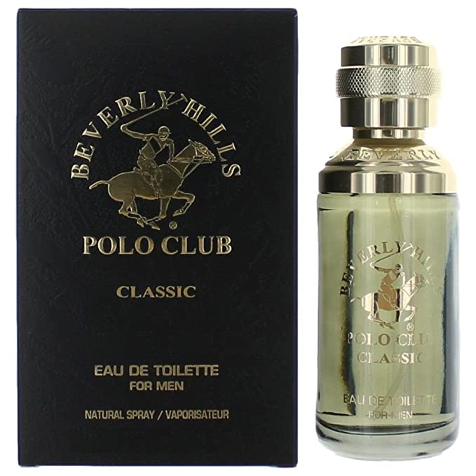 Beverly Hills Polo Club Classic para hombre 2.5 Fl Oz (75ml) Eau ...
