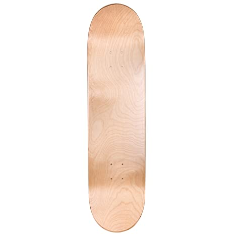 Cal 7 Blank Skateboard Deck | 7 75, 8 0, 8 25 and 8 5 Inch | Maple Board  for Skating (8 5 Inch, Natural)