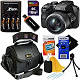Fujifilm FinePix S9900W 16.2 MP Wi-Fi Digital Camera with 50x Zoom & HD 1080i Videos (Black) + 4 AA Batteries with Charger + 8pc Bundle 16GB Accessory Kit w/ HeroFiber® Ultra Gentle Cleaning Cloth