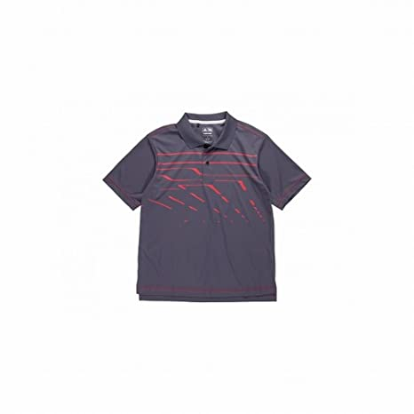 f2d4de540 Image Unavailable. Image not available for. Color: Adidas Climalite Amazon  Print Polo Shirt (JUNIORS ...