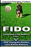 img - for FIDO Fundamentals In Dog Obedience: USAF K-9 Handler Training Guide for Pet dogs book / textbook / text book