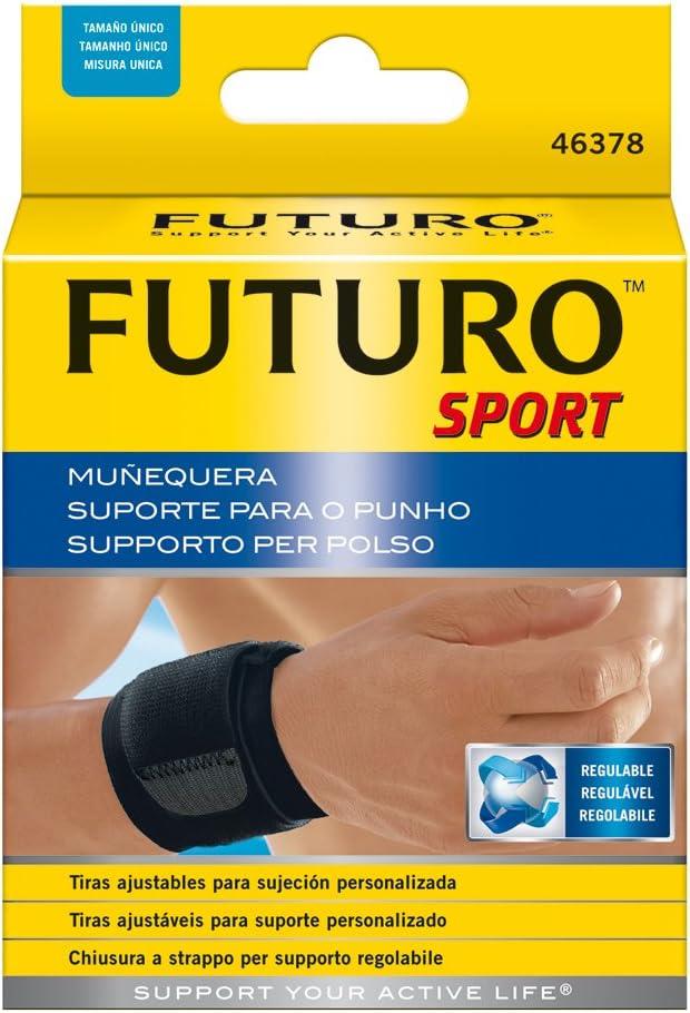 Futuro Sport - Muñequera ajustable: Amazon.es: Salud y cuidado ...