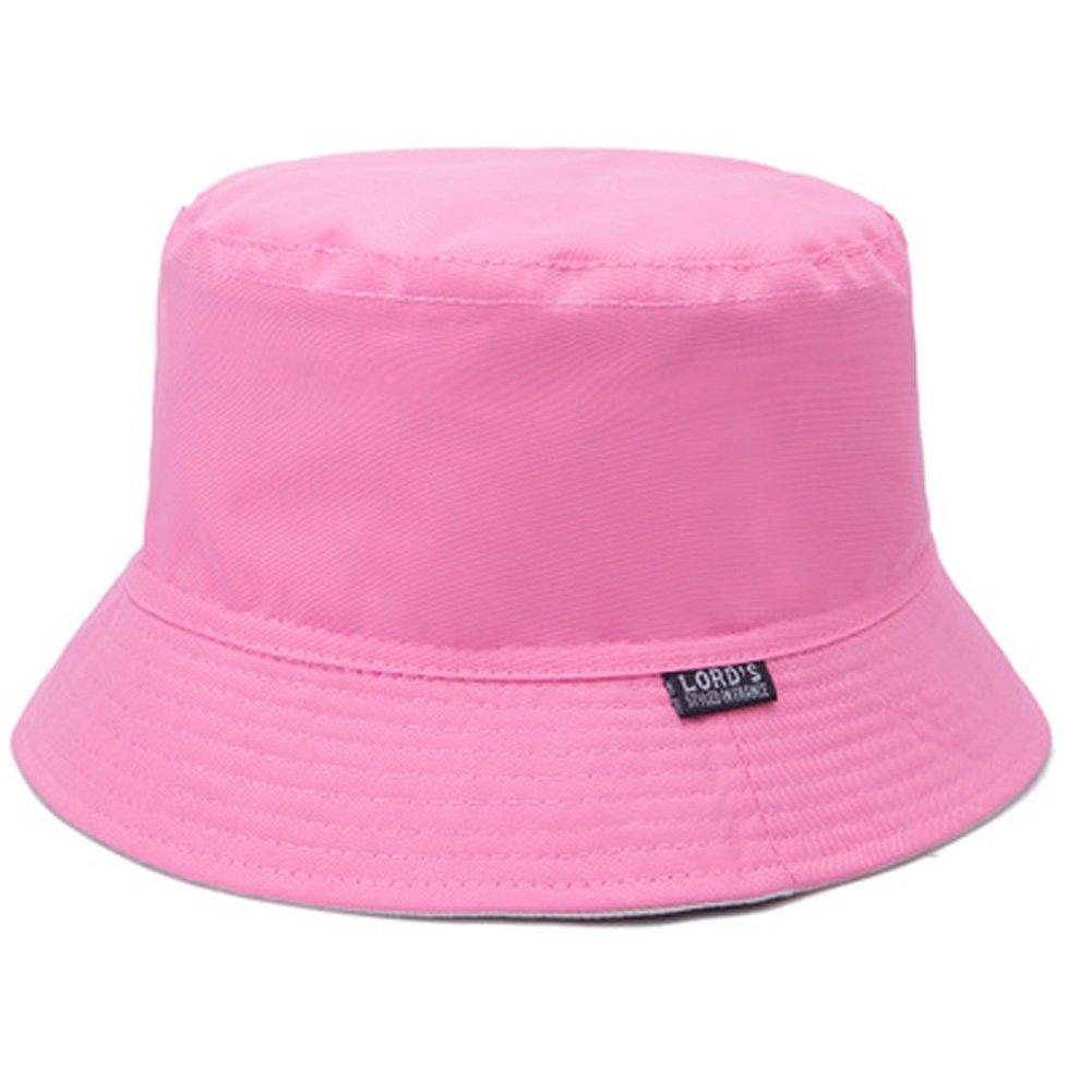 Kylin Express Femme 100% coton d'été Rose Pliable Chapeau de soleil imperméable Blancho Bedding KE-CLO5427597011-AMANDA00037