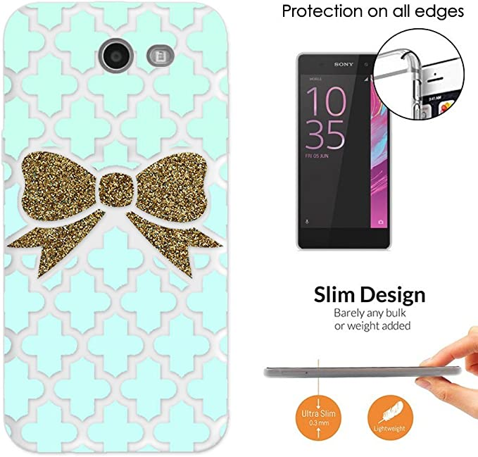 C00705 Gold Cute Bow Wallpaper Design Samsung Galaxy J5 2017 Sm J530 Fashion Trend Case Ultra Slim Light Plastic 0 3mm All Edges Protection Case Cover Clear Amazon Ca Cell Phones Accessories