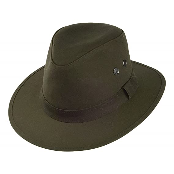 06ec80694a6 Failsworth Hats Waxed Drifter Water Repellent Hat - Olive SMALL ...