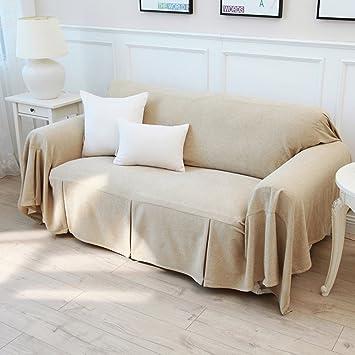 Amazon Com Yangyaya Surefit Sofa Slipcovers 1 Piece Cotton Anti