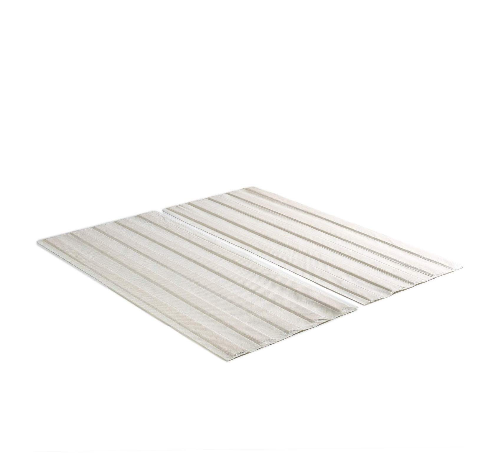Solid Wood Bed Support Slats/Fabric-Covered/Bunkie Board, King Comfy Living Home Décor Furniture Heavy Duty
