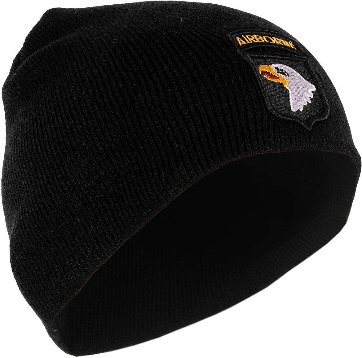 Fostex 101st Airborne Beanie Hat Black