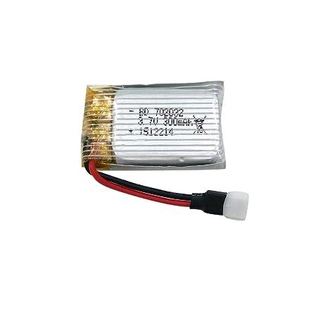 Faironly - Dron de batería de Litio (3,7 V, 300 mAh, para SG-300HW ...