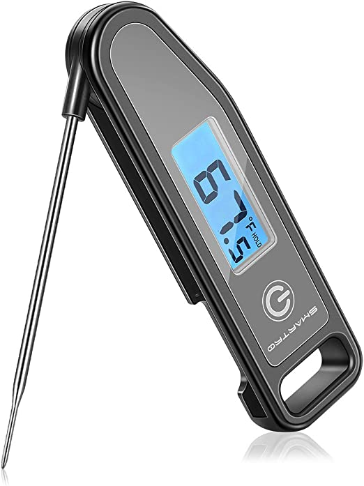Instant Read Digital Food Meat Thermometer Kitchen Cooking BBQ Grill Smoker MY