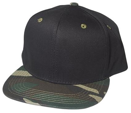 QualityMerchandiseLTD Snapback Plain Design Hats by Quality Merchandise - Cool  Custom Caps For Men   Women - Premium Quality Cotton - Adjustable Back ... 8c4fe176bc8