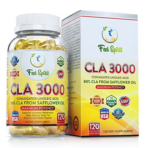FeelSpirit Conjugated Safflower Supplements Guarantee product image