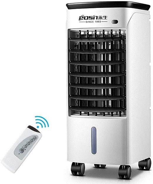 SL&LFJ Ventilador de Aire Acondicionado con 4 Ruedas pivotantes ...