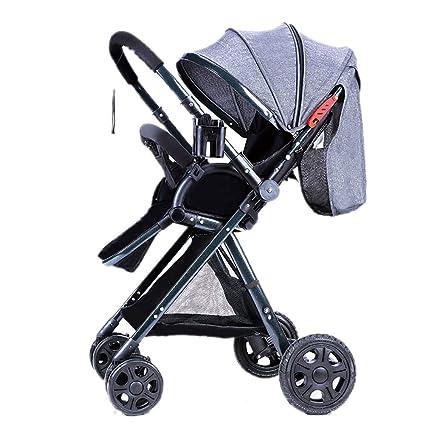 High Landscape Baby Stroller Handle Reversible Infants Buggy ...