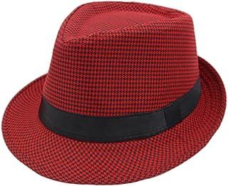 cru fedora style chapeau chapeau de soleil en plein air casquettes chapeau, vin Blancho Bedding