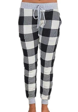 dahuo - Pantalones de chándal para Mujer, de algodón, elásticos ...