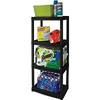 Deals on Plano 4-Tier Heavy-Duty Plastic Shelves
