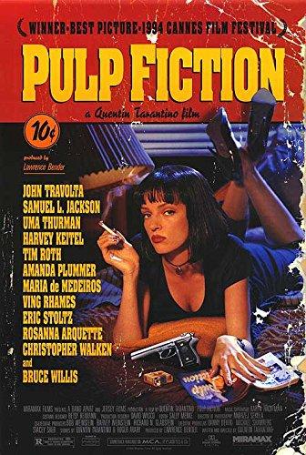 Pulp Fiction - Authentic Original Movie Poster