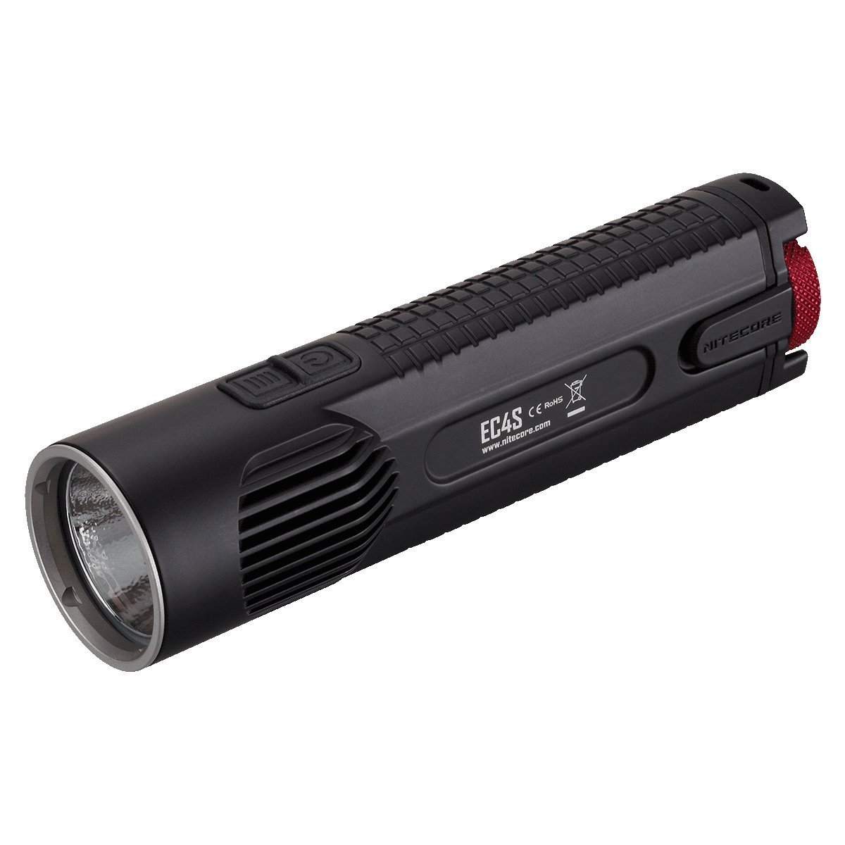 Linternas : Nitecore Ec4s Flashlight Cree Xhp50 Led + Free.