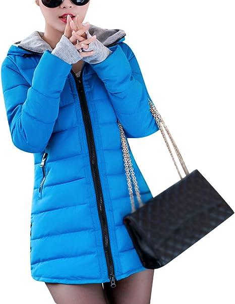 Damen Winter Daunenmantel Dicker Ganzkörper Parka lange Trenchcoat schick Jacke