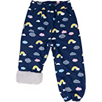 JAN & JUL Kids' Waterproof Cozy-Dry Rain Pants