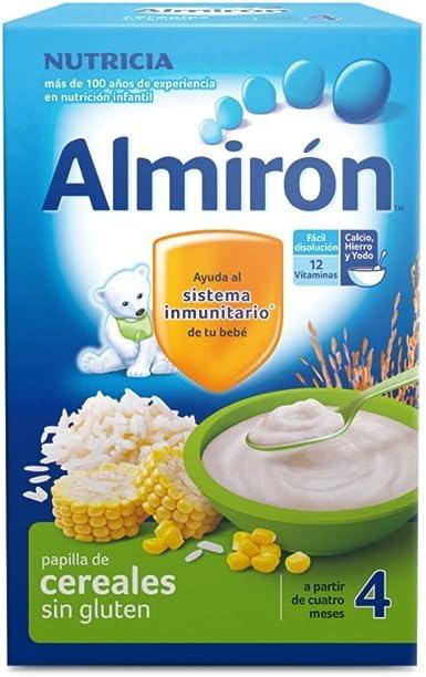 Almirón Papilla de cereales sin gluten a partir de los 4 ...