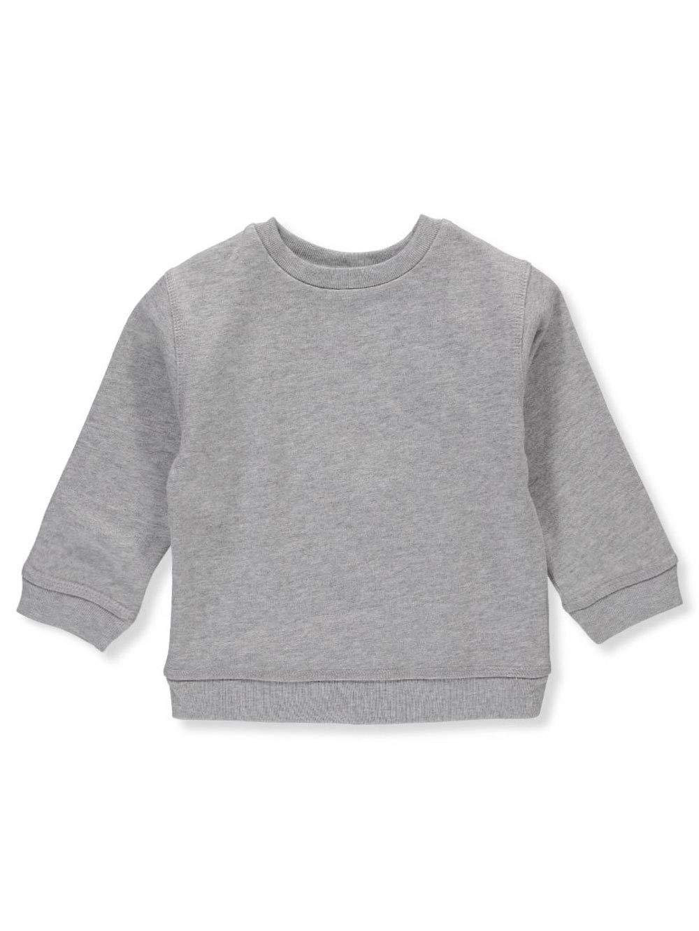 Miniwear Baby Boys' Sweatshirt - heather gray, 18 months