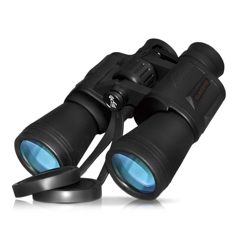 Lixada 10 x 50強力なフルサイズ双眼鏡耐久性クリア双眼鏡for Bird Watching Sightseeing Hunting Wildlife WatchingスポーツイベントW / Carrying Caseストラップレンズキャップ B077T59LK2