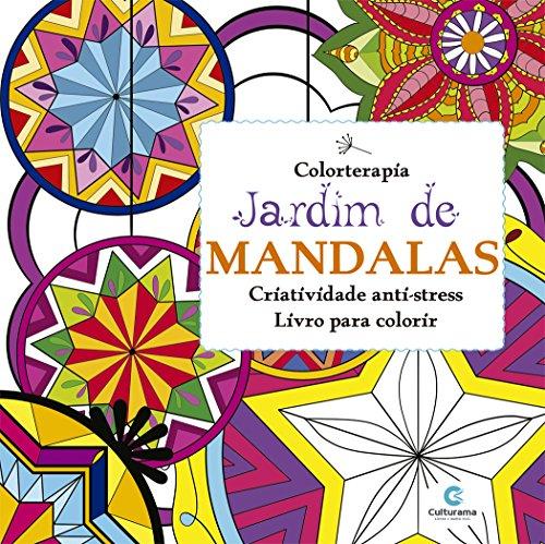Livro de Colorir Jardim de Mandalas