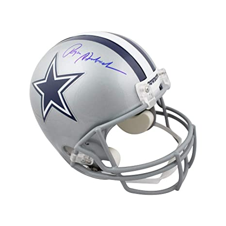 354775dae Amazon.com  Roger Staubach Autographed Dallas Cowboys Full-Size Football  Helmet - JSA COA  Sports Collectibles