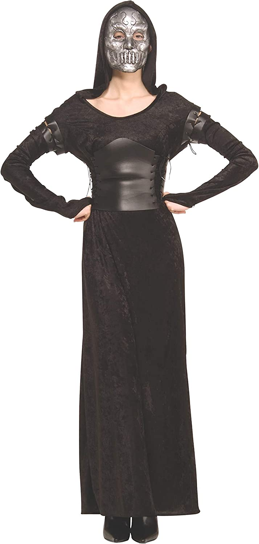 Amazon.com: Harry Potter Adult Female Death Eater Costume ...