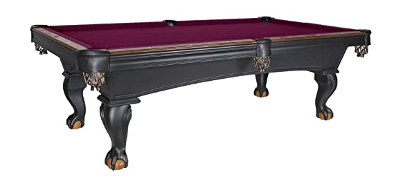 Amazon.com : Olhausen Pool Table | Professional Quality Pool Table Made In  The USA | Includes, Cues, Balls, Accessories U0026 Professional Installation ...