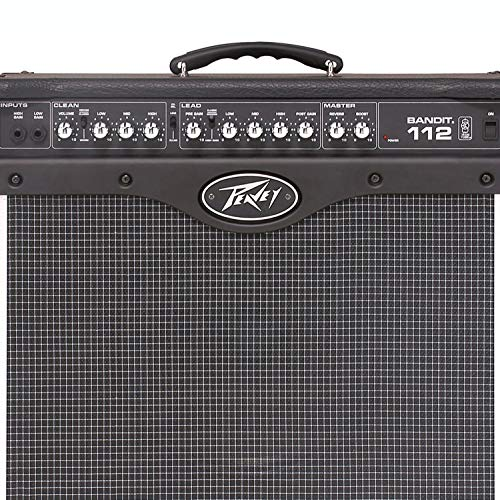 - Peavey 12 Inch Compact Vented 80W Combo Guitar TransTube Amplifier (2 Pack)