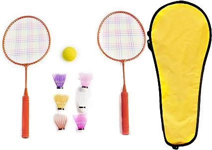 2 Player Badminton Set Rackets+Ball Children Outdoor Indoor Sport Game Portable