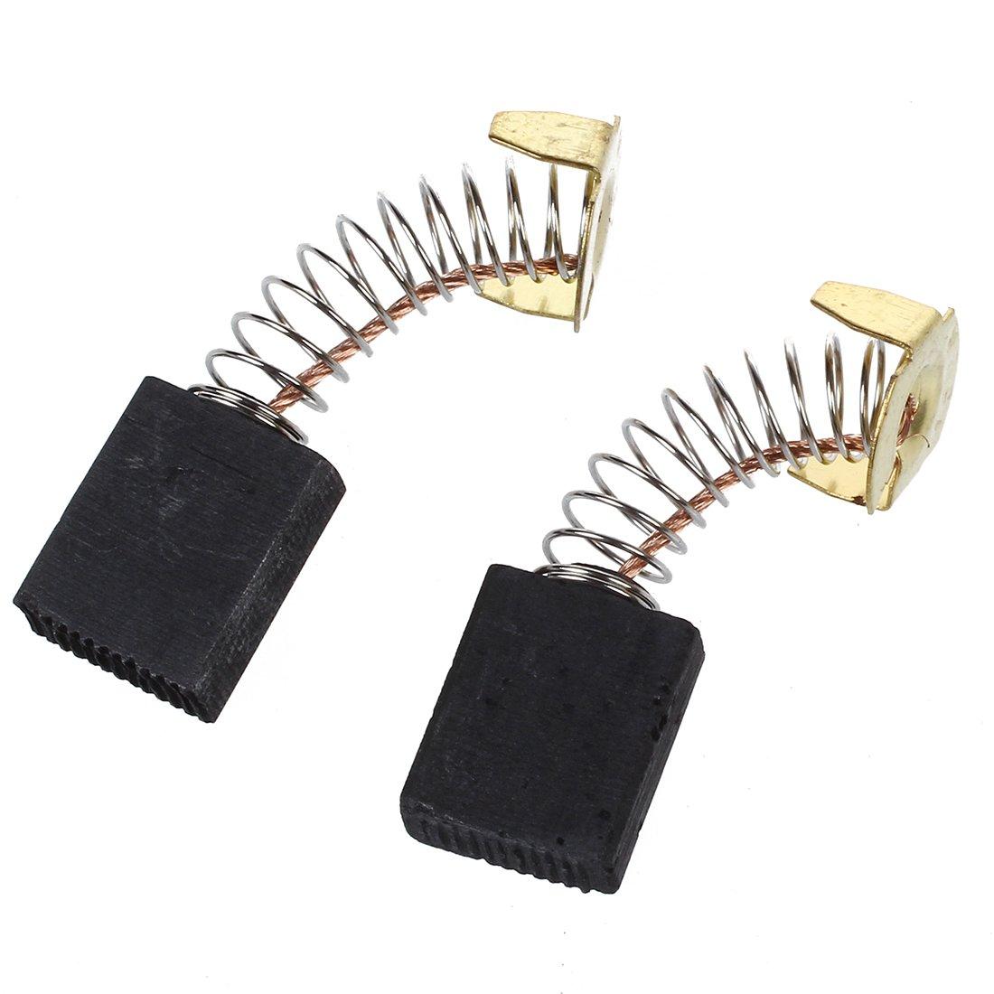 R 2 x Balai de charbon du moteur electrique 6.5mm x 13.5 mm x 18 mm SODIAL