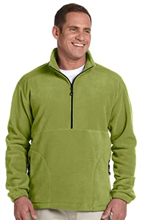 8644ce9bb08a Devon   Jones D775 Unisex Wintercept Fleece Quarter-Zip Jacket at ...