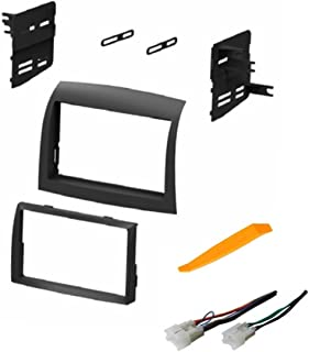 61vo2l30vxL._AC_UL320_SR290320_ amazon com toyota sienna 2004 2010 double din stereo dash kit and