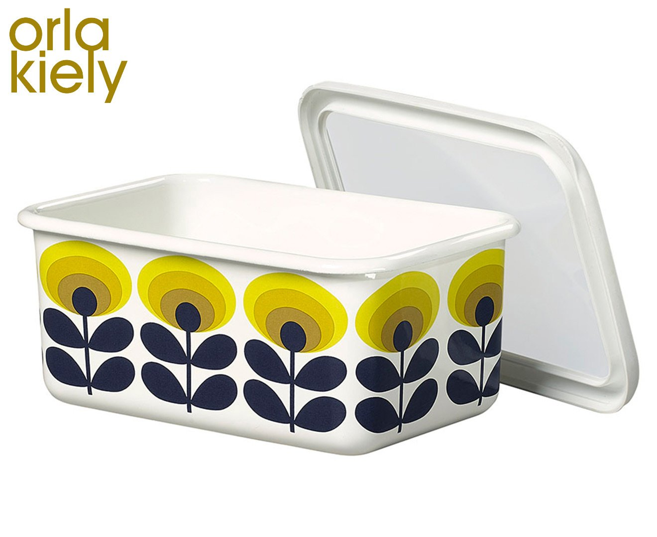 Amazon.com | Orla Kiely Storage Container, Flower Print, (Large ...
