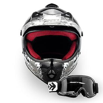 "Armor · AKC-49 Set ""Black"" (black) · Casco Moto-"