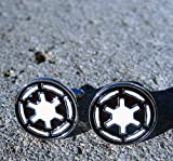Star Wars Imperial Empire men's Jewelry Wedding Party Stainless Steel Cufflinks Cuff Link by Preciastore