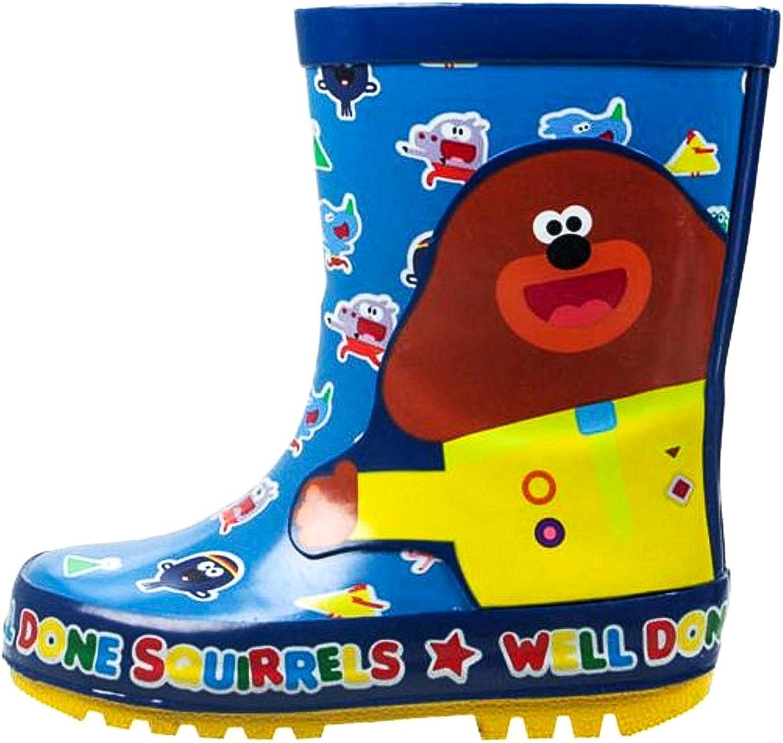 Kids Boys Spiderman Wellies Snow Rain Wellington Boots With LED Lights
