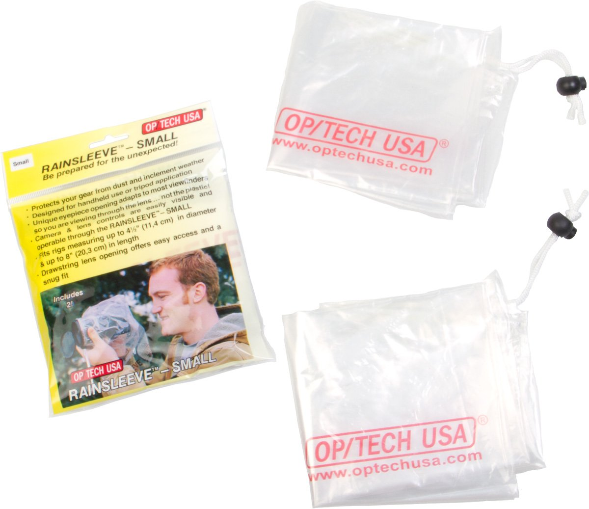 OP/TECH USA RainSleeve - Small, Counter Display (20 Packs of 2) by OP/TECH USA