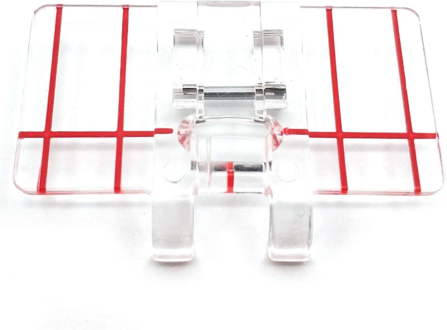 RETYLY Simple Plastico Transparente Prensatelas De Pie De Paralelo ...