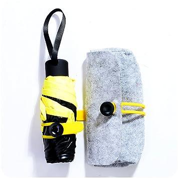 1 x Paraguas Plegables - Paraguas Solar / UV a Prueba de Paraguas de Sol /