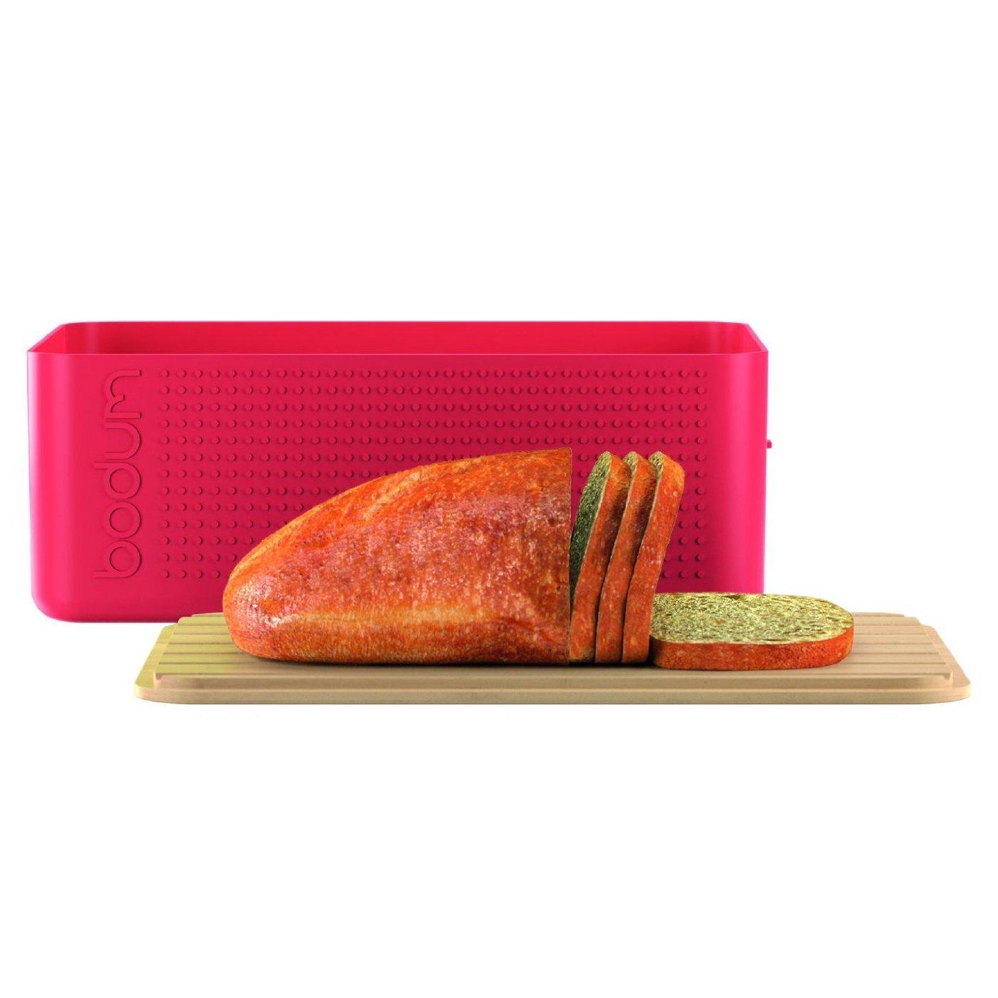 Black Bodum Bistro Bread Box