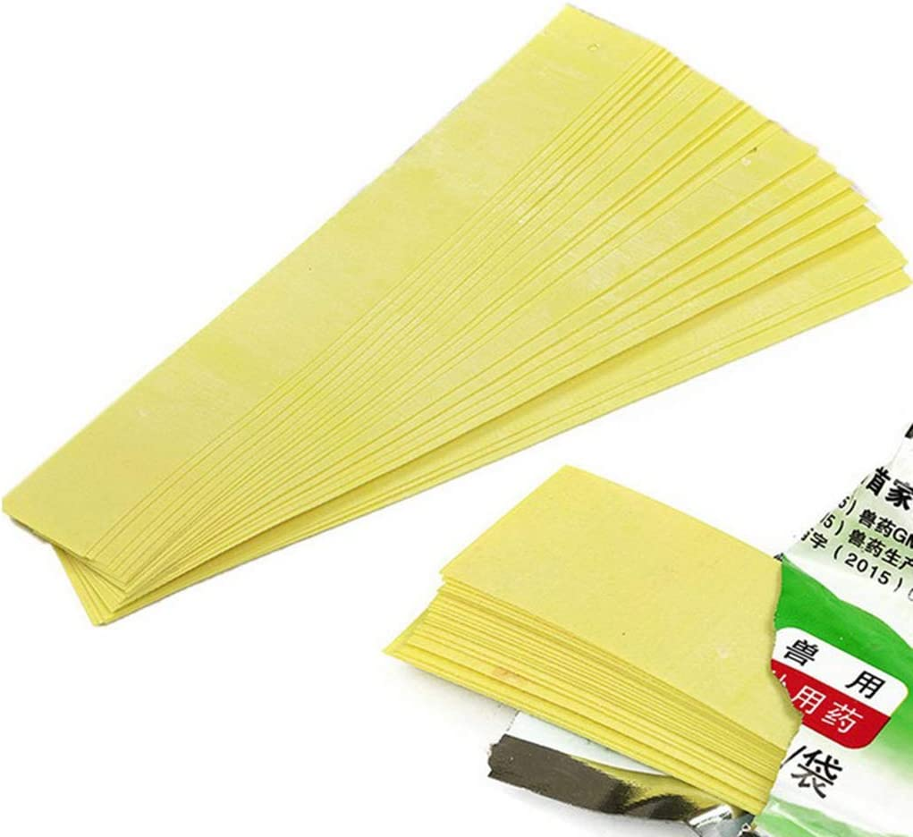 dailymall 40pcs Acaricide Apiculture Fluvalinate Abeille Acarien Varroa Killing Tool Strips