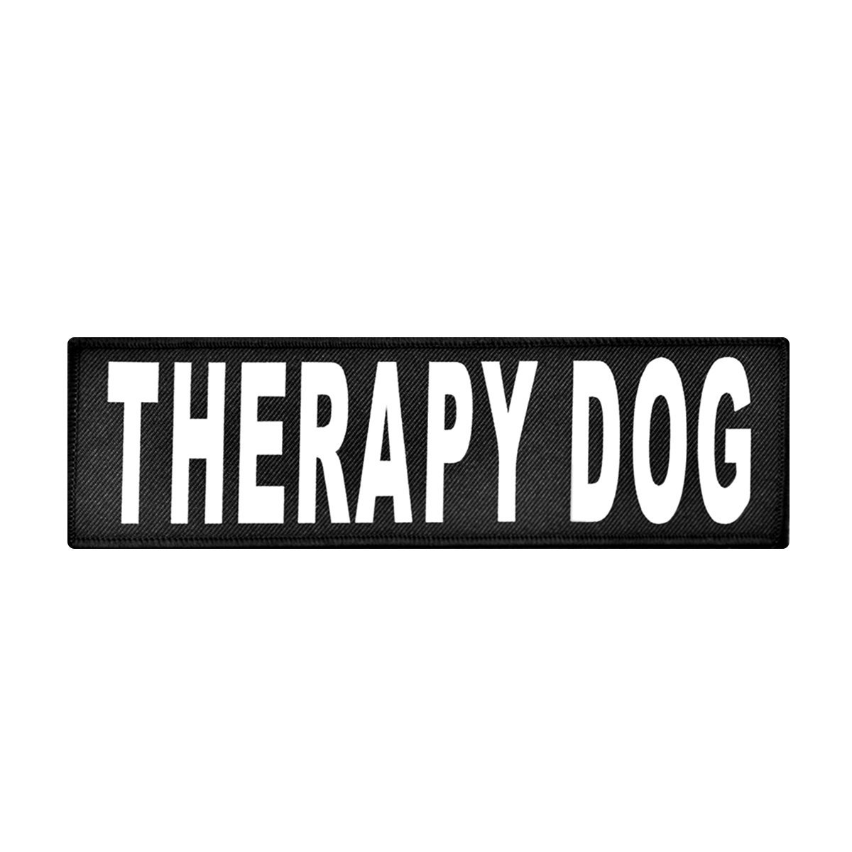 2 3 4\ Therapy Dog Reflective Dog Patch Removable (2 3 4  x 1 )