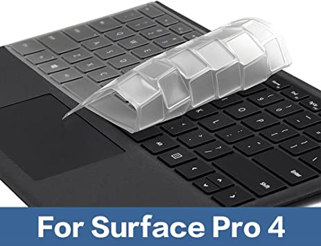 Para Surface Pro 4 teclado cubierta Sikai Ultra Slim ...