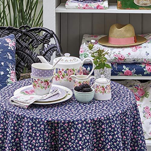 Color Blanco y Rosa 50 x 70 cm Green Gate Pa/ño de Cocina dise/ño de Flores